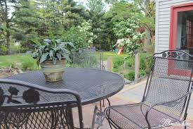 painting wrought iron furniture. Spray Paint Patio Furniture Painting Wrought Iron