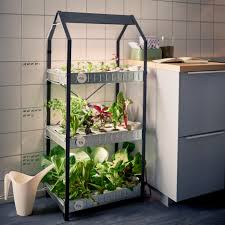 Hydroponic Kitchen Garden Ikea Introduce A Hydroponic Indoor Gardening Kit Biophilic Homes