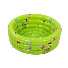 large 3 ring inflatable bath tub round swimming