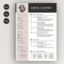 Clean Cv Resume Ii Cv Template Template And Creative Resume