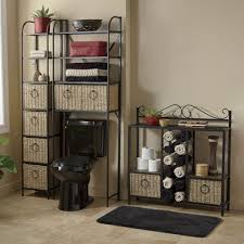 Windsor Tower Towel Storage Rack and Space Saver with Baskets from