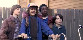 Will, Dustin, Lucas, and Mike | Stranger things kids, Stranger things 2,  Stranger things