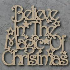 sayings plaque we believe wall hung