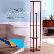 Mood Lighting Living Room Brightech Store Maxwell Shelf Floor Lamp Modern Mood Lighting