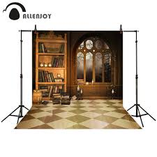 <b>Allenjoy photography backdrop</b> Mysterious Magic <b>Book</b> Shelf ...
