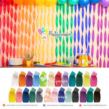 product details of diy crepe paper streamers for various decorations party backdrop decorations birthday theme parties diy