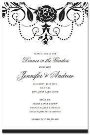 Formal Dinner Invitation Sample Dinner Party Invitation Sample Formal Letter For Wording