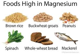 Potassium Food Chart Mg Magnesium Foods And Supplements Chart Benefits Side Effects