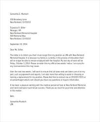 Example Of A Letter Of Resignation Unique 48 Resignation Letter Examples