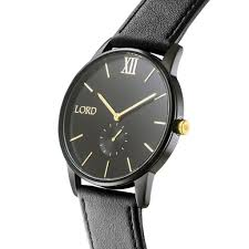 solitude black gold watch men s watches lord timepieces solitude black watch men s watches lord timepieces solitde black gold side