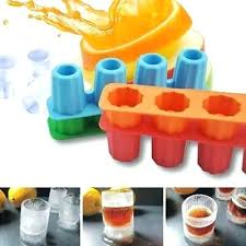 shot glass mold silicone 4 cups shot glass mold cool shooters ice cube tray dishwasher maker