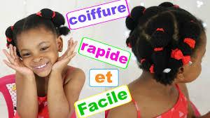 Tuto Coiffure Enfant Rapide Et Facile Cheveux Afro Cr Pus