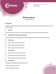 How To Write An Agenda Of A Meeting How To Write A Meeting Agenda For Conference Calls