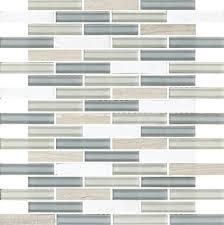 1 sf blue gray white stone linear glass mosaic tile kitchen backsplash bath spa