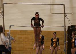 gymnasts prepare for sections