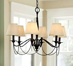 chandelier shades ceiling hanging lamp shades pottery barn in regarding chandelier lamp shades