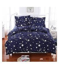 bsb trendz double microfibre dark blue 3d print bedding set set of 100 bsb trendz double microfibre dark blue 3d print bedding set set of 100