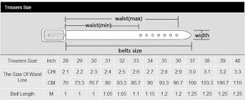Mens Belt Size Chart Cm Miluota Brand Belt For Men 100 Genuine Leather Strap Male Metal Pin Buckle Vintage Mens Belts Luxury Bt1316