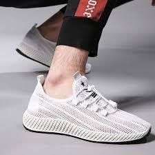 Men Sport Sneakers 2019 Non-Slip Mesh Breathable Lightweight ...