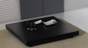 modrest t modern black oak coffee table  coffee tables  living