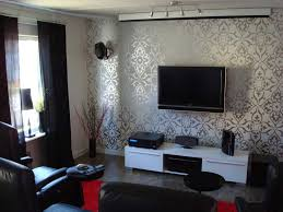 Small Picture Living room wallpaper designs