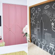 closet door makeovers that you ll love