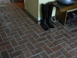 Kitchens With Brick Floors Kitchen Brick Flooring News From Inglenook Tile