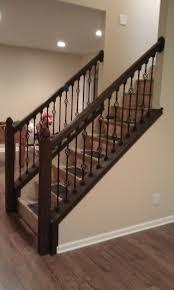 Basement Stairs Railing Staircase Railing Ideas Design Photo 17
