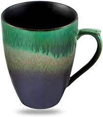 Shop for stoneware coffee mug sets online at target. Amazon Com Handmade Pottery Coffee Tea Mug Polish 10 Ounce Rustic Stoneware Ceramic Cup Clay Art By Oojdzoo A Kitchen Dining