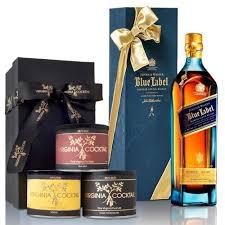 johnnie walker blue label blended scotch whisky gift set 750ml plementary elegant packaging