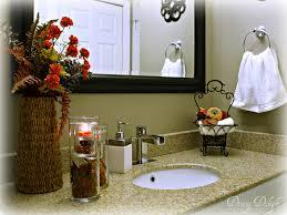 fall bathroom decorating ideas  involvery community blog