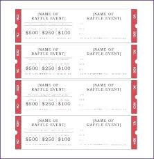 Event Ticket Template Word Sample Word Template Create Event Tickets In How To Calendar