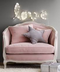 mini couches for kids bedrooms. Gorgeous Big Comfy Pink Chair With Grey Star Cushion. Really Cosy Mini Sofa. Beautiful Couches For Kids Bedrooms