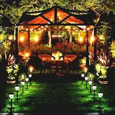 outdoor lighting ideas for backyard. Inexpensive Wedding Outside Lighting Ideas Backyard Illuminate Outdoor Area To Make Easy . Party For