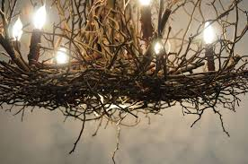 twig chandelier uk