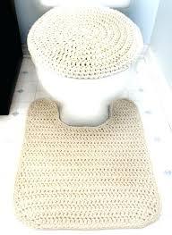 crochet bathroom rug memory foam toilet rug toilet cotton contour toilet mat crochet a matching toilet seat cover and contour rug choose memory foam toilet