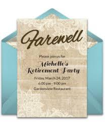 Retirement Invitations Free Free Retirement Party Online Invitations Punchbowl