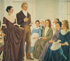 plural marriage revelations of joseph smith emma and joseph at the organization of the relief society