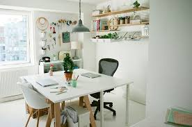 chic home office design home office. Peg Board Brings Better Organization To The Chic Home Office Design