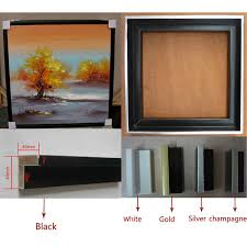 popular decorative pictures wooden frames for canvas paintings