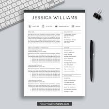 2019 2020 Pre Formatted Resume Template With Resume Icons Fonts And