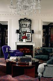 ralph lauren home office accents. Surprising A Tailored Living Room Of Menswear Inspired Upholstery From Home Office Interior Ralph Lauren Accents