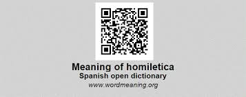 homiletica homiletica spanish open dictionary