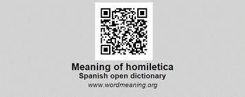 homiletica homiletica spanish open dictionary
