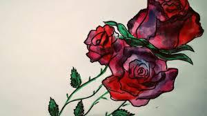 эскиз для татуировки цветы