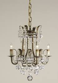 currey and pany 9543 crystal laureate four light mini chandelier