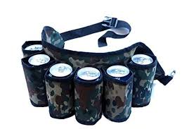 1 beer holster belt
