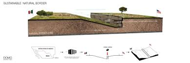Mexico Border Wall Design This Alternative Us Mexico Border Wall Is Made From Recycled