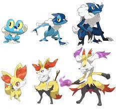 Pokemon Froakie Evolution Chart Water Type Evolution Fire Type Evolution X And Y Forever 3
