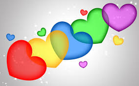 colorful heart wallpapers. Simple Wallpapers Colorful Hearts Wallpaper And Heart Wallpapers R